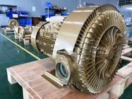China 11KW High Pressure Side Channel Blower For Pneumatic Conveying Waste Water Treatment Aquaculture factory