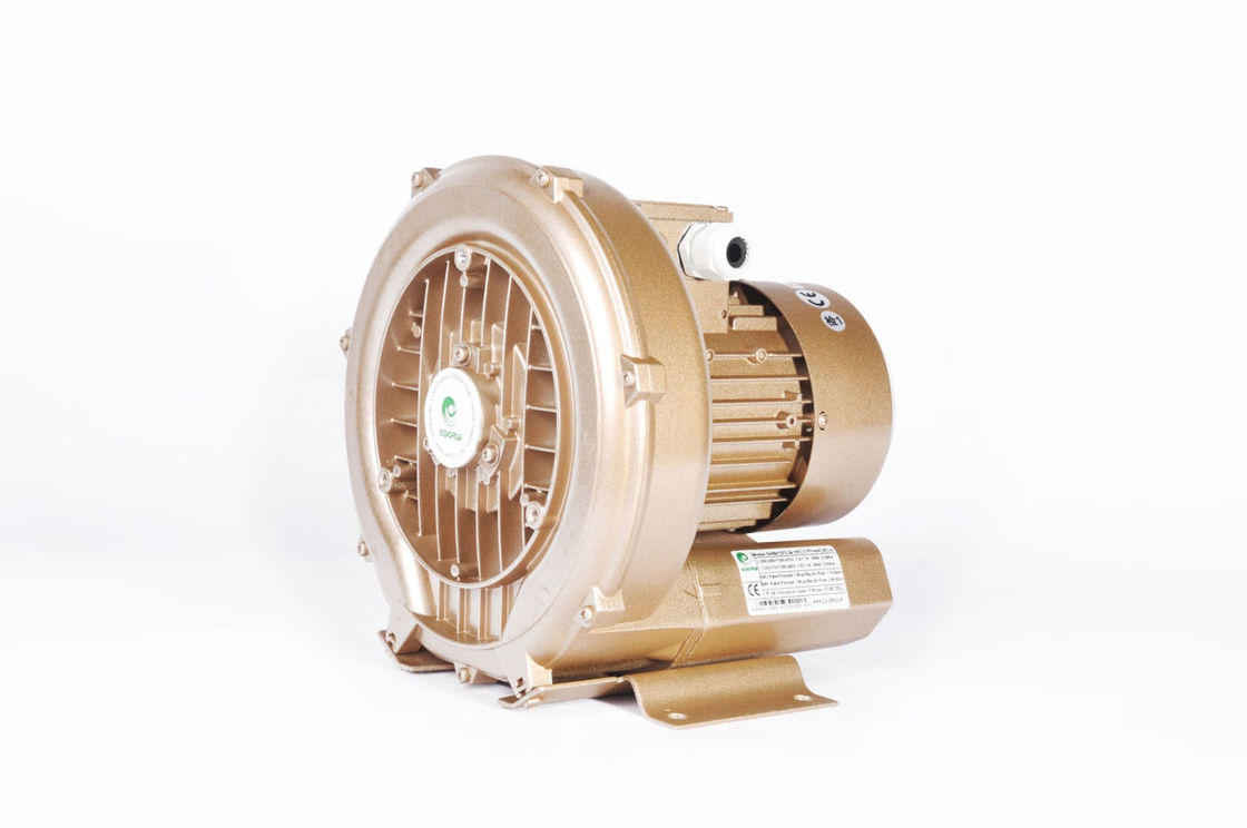 Side Channel 0.4 KW Air Suction Blower For Energy Saving SPA Aeration