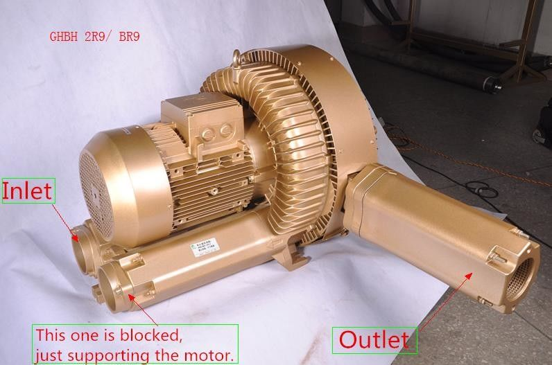 25KW Ghbh 2r9 Goorui Side Channel Blower For Vacuum Conveying System